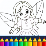 Coloring game for girls and women 13.9.6 (Mod)