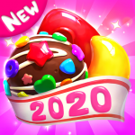 Crazy Candy Bomb Sweet match 3 game  4.7.1 (Mod)