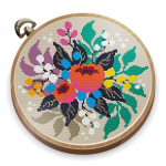 Cross Stitch Club — Color by Numbers with a Hoop 1.4.27 (Mod)