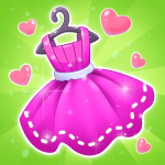 Fashion Dress up games for girls. Sewing clothes 3.1.9  (Mod)