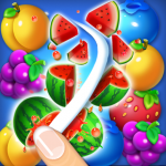 Fruits Crush Link Puzzle Game  1.0039  (Mod)