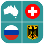 Geography Quiz – flags, maps & coats of arms  1.5.24 (Mod)