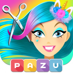 Girls Hair Salon Unicorn – Hairstyle kids games 1.06 (Mod)