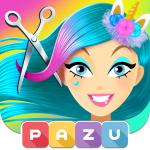 Girls Hair Salon Unicorn – Hairstyle kids games  1.42 (Mod)