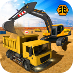Heavy Excavator Crane – City Construction Sim 2017 1.0.9 (Mod)