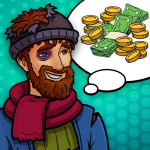 Hobo Life: Business Simulator & Money Clicker Game 1.5 (Mod)
