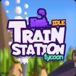 Idle Train Station Tycoon : Money Clicker Inc. 1.2.2 (Mod)