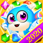 Jewel Blast Dragon Match 3 Puzzle  1.22.6 (Mod)