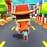 Subway Kiddy Run- Escape From School 3D Race  1.04 (Mod)