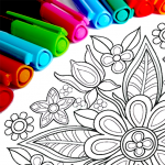 Mandala Coloring Pages 14.4.4 (Mod)