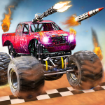 Monster Truck Death Race 2019: Car Shooting Games 2.8 (Mod)