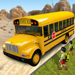 Offroad School Bus Driving: Flying Bus Games 2020 1.36(Mod)