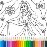 Princess Coloring Game  15.3.8 (Mod)