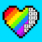 RAINBOW Color by Number – 2D & 3D Pixel Art 1.6.9  (Mod)