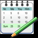 Simple Score Sheet 2.04 (Mod)