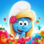 Smurfs Bubble Shooter Story  3.03.010207 (Mod)