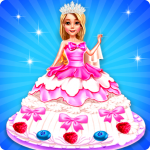 Wedding Doll Cake Decorating | Cooking Game  4.0 (Mod)