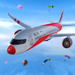 Airplane simulator 2020: airplane games 100.4 (Mod)