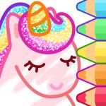 Animated Coloring for Kids – Unicorn and Princess 1.5.0 (Mod)
