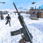 Action shooting games : Commando Games  4.38 (Mod)