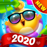 Bird Friends Match 3 & Free Puzzle  1.6.1 (Mod)