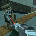 Blocky Shooting Arena 3D Pixel Combat 1.8 (Mod)