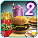 Burger Shop 2 – Crazy Cooking Game with Robots 1.2 (Mod)