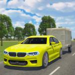 Car Driving Sim : Trailer Transport 1.3 (Mod)