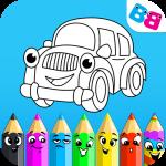 Car coloring : kids doodle drawing games for kids 1.1.4 (Mod)