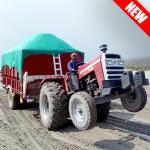 Cargo Tractor Trolley Simulator Farming Game 2019 1.0 (Mod)