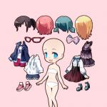 Chibi Girls Doll Creator  0.0.5 (Mod)