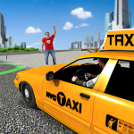 City Taxi Driving simulator: PVP Cab Games 2020  1.51 (Mod)