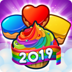 Cupcake Blast! New Match 3 Games Free with Bonuses 2.0 (Mod)