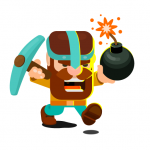 Dig Bombers: battle bomber arena PvP multiplayer 3.7.1 (Mod)