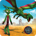 Dragon Stickman Transform Shooting Games 1.0.6 (Mod)
