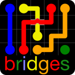 Flow Free Bridges  4.6 (Mod)