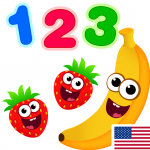 Funny Food 123! Kids Number Games for Toddlers 2.5.0.12  (Mod)