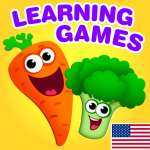 Funny Food educational games for kids toddlers  (Mod)