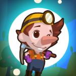 Gold Miner Saga : Dig a Hole Through The Earth 1.5.2 (Mod)