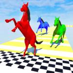 Horse Run Fun Race 3D Games 2.0 (Mod)