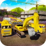 House Building Simulator: try construction trucks! 1.3.1 (Mod)