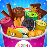 Ice Cream Rolls Maker- Rainbow Sandwich Food Stall 2.0 (Mod)