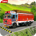 Indian Real Cargo Truck Driver 1.39  (Mod)
