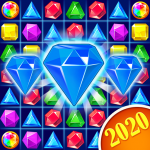 Jewel Crush™ – Jewels & Gems Match 3 Legend  4.4.3 (Mod)