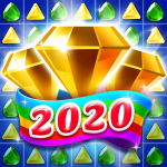 Jewel & Gems Mania 2020 – Match In Temple & Jungle 8.7.5 (Mod)
