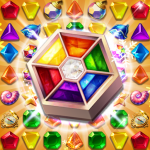 Jewels Fantasy : Quest Temple Match 3 Puzzle  1.8.1 (Mod)
