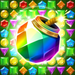 Jungle Gem Blast: Match 3 Jewel Crush Puzzles 4.2.5(Mod)