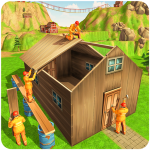 Jungle Hut Construction House- Building & Crafting 1.0.2 (Mod)