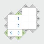 Kakuro (Cross Sums) KK-2.2.2 (Mod)