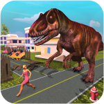 Monster Dinosaur Simulator: City Rampage 1.18  (Mod)
